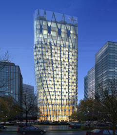 Conrad Beijing, set to open 2012