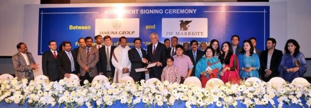 Marriott International Introduces JW Marriott Brand to Bangladesh with the Signing of JW Dhaka