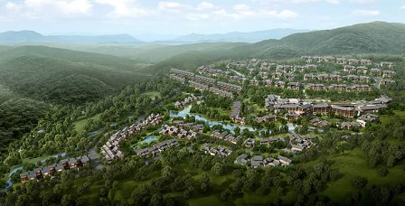 Banyan Tree Chongqing Beibeiwill open to guests in the summer of 2013