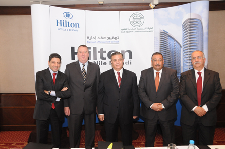 Hilton Worldwide's Programme Of Growth Continues With Latest Egypt Signing - Egypt's Foremost Hospitality Provider Strengthens Position With Hilton Hotels & Resorts Cairo Announcement