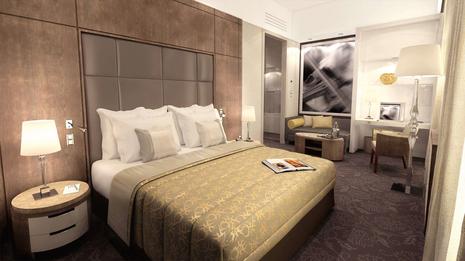Palais Hansen Kempinski Hotel Vienna - Hotel room