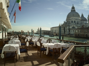 Gritti Palace in Venedig - Club del Doge Restaurant Terrace