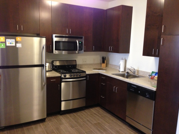 Hyatt House Minot offers real kitchens, as well as separate living and sleeping spaces