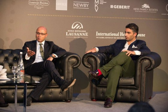 Introducing the first World Luxury Index, a benchmark by Samad Laaroussi, Holder of EHL's Chair of Luxury Hospitality and David Sadigh, CEO of Digital Luxury Group. (source: Ecole hôtelière de Lausanne - EHL)