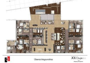 Hotel-Kompetenz-Zentrum - Hotel-Musterzimmer - JOI-Design