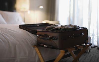 Hotel Room - Suitcase