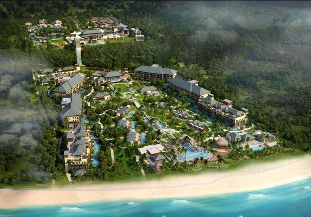 Ritz-Carlton - Bali Aerial Shot
