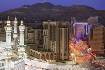 New top hotels will arise in Mecca