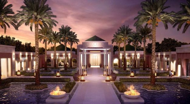 Hotel project Ritz Carlton Rabat Dar Es Salam in Morocco – the luxury hotel with 120 rooms will open its doors late 2014