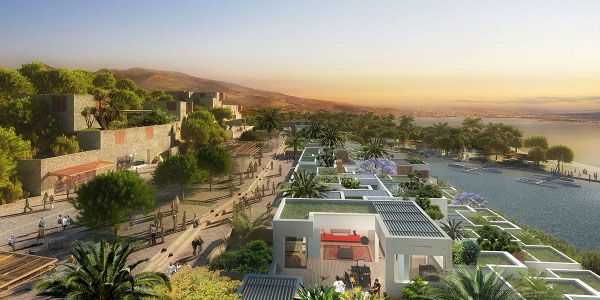 Largest hotel construction project in Africa Atalayoun Golf Resort in Morocco - about 1,000 rooms