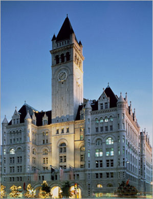 "The old Post Office from 1899 in Washington, D.C. is converted by Donald Trump to the ""best"" luxury hotel"