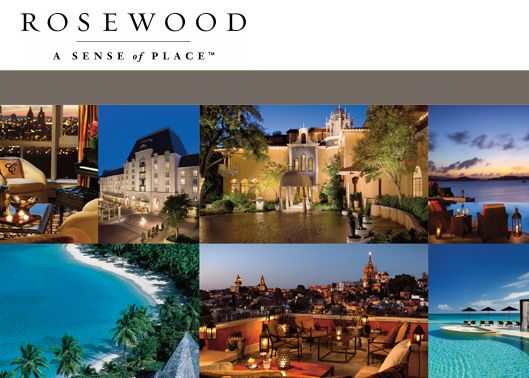 rosewood hotels resorts This presentation is an in-depth marketing analysis of the harvard business case rosewood hotels and resorts it has been created by pallabh bhura of jadavpur university during a marketing internship under prof sameer mathur, iim lucknow.