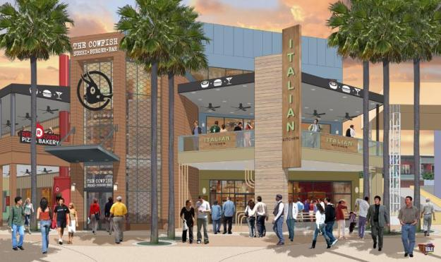 Universal Orlando's CityWalk will undergo a historic expansion during 2014 - all part of an epic year for Universal that will include the opening of the destination's largest hotel, Universal's Cabana Bay Beach Resort, and The Wizarding World of Harry Potter - Diagon Alley. Universal Orlando announced that it will open eight new venues across CityWalk throughout 2014 as part of a bold growth strategy designed to complement the entertainment complex's already popular collection of national brands