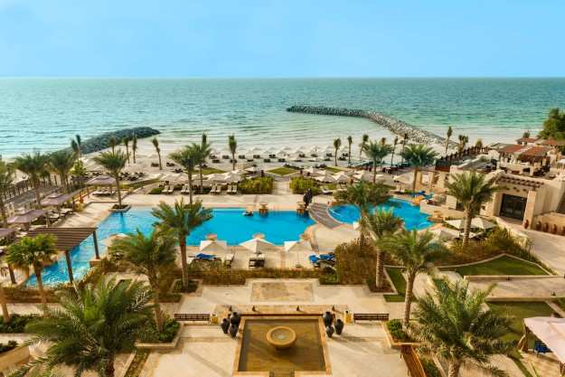 View from Ajman Saray, a Luxury Collection Resort