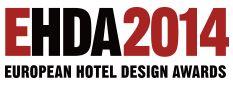 European Hotel Design Award 2014  Logo