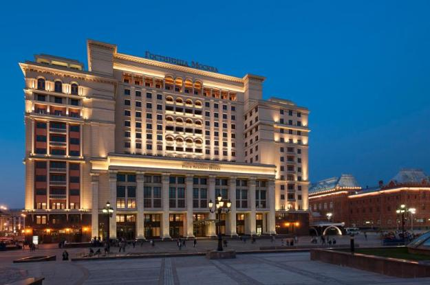 Landmark Hotel Moskva Reborn as Four Seasons Hotel Moscow