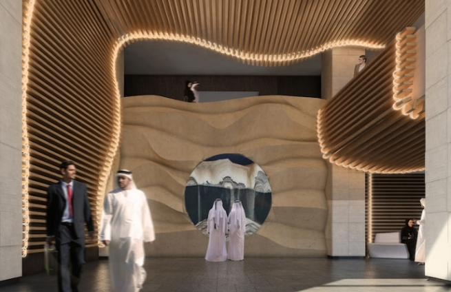 Nobu Hotel Riyadh - Entrance Hall