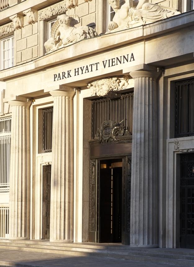Park Hyatt Vienna - Eingang