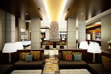 Hilton Dallas - Plano Granite Park - Lobby