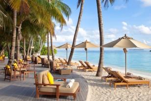 Maldives beachfront