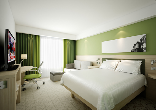 Hampton by Hilton Nuremberg City Centre - Guest Room