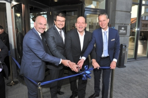 Hilton Brussels Grand Place Ribbon Cutting