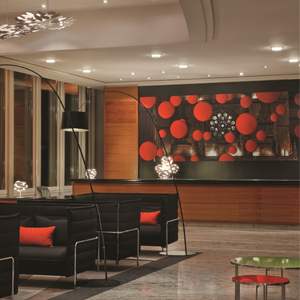 Lyon Marriott Hotel Cité International - Lobby