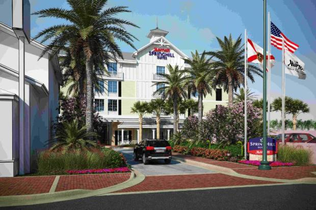 New Smyrna Beach SpringHill Suites by Marriott