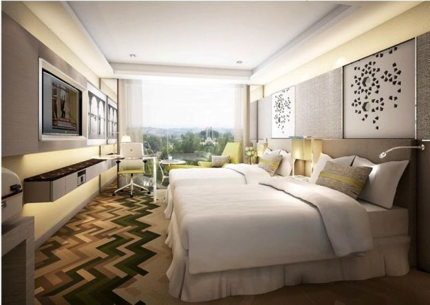 Courtyard by Marriott Agra India - Luxury Room