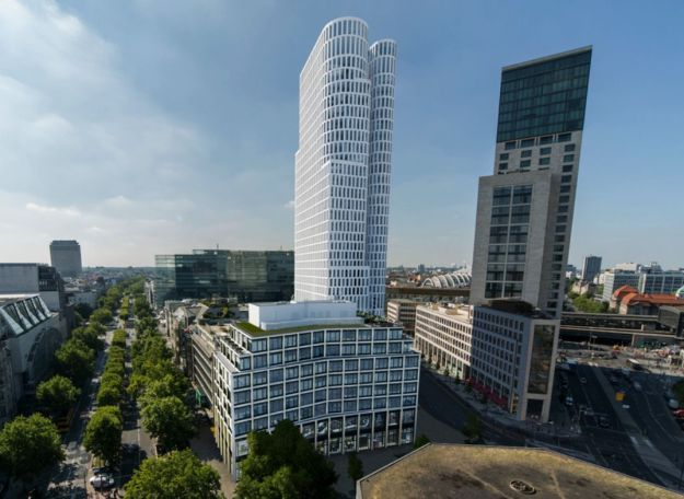 Motel One will open a budget design hotel late 2016 with 582 rooms and panorama lounge in the top floor in Berlin – vis-à-vis by Waldorf Astoria