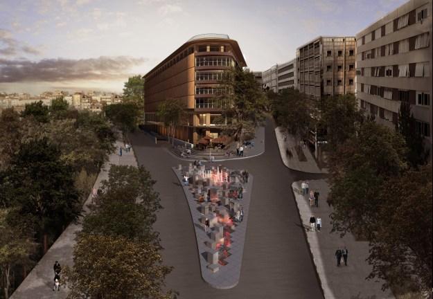 St. Regis Istanbul - Facade Rendering