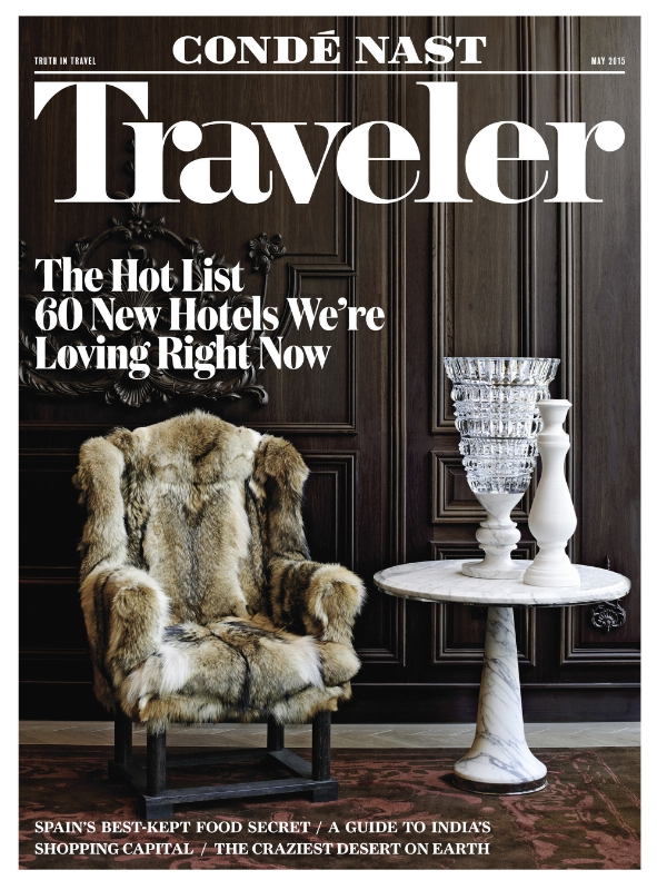 Conde Nast Traveler May 2015 Cover