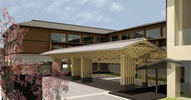Four Seasons hotel project with 186 rooms  in Kyoto, Japan - Opening scheduled in fall 2016