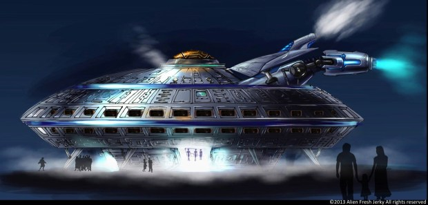 The first UFO Hotel in America is no longer just a fantasy -- thanks to Luis Ramallo. (PRNewsFoto/UFO Hotel)