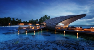 Exclusive resort with 77 private villas - St. Regis Vommuli resort will be opened in 2016 on Maldives