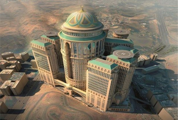 The Abraj Kudai Hotel in Mecca, Saudi-Arabia